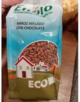Arroz inflado ecológico chocolate